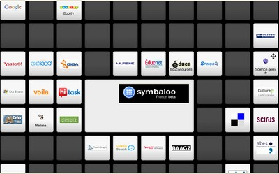 Symbaloo page d'accueil